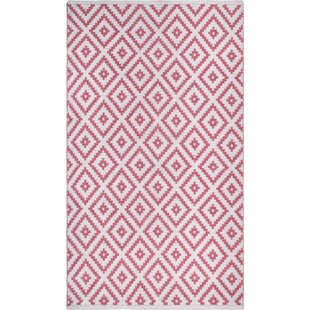 Huddleston Pink/Beige Indoor/Outdoor Area Rug