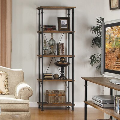 Oliver Etagere Bookcase by August Grove