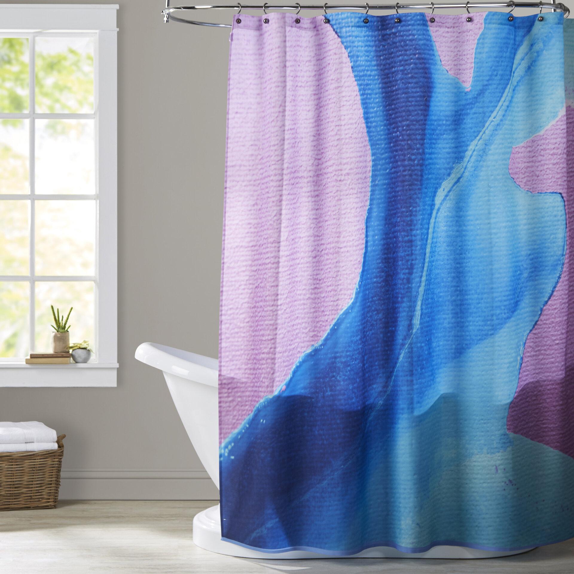 Brayden Studio Deb Mcnaughton Body Of Water Shower Curtain Reviews Wayfair