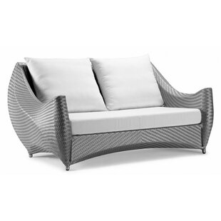 Peak Loveseat with Cushions by 100 Essentials