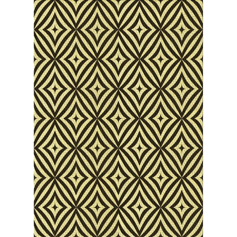 East Urban Home Draper Geometric Wool Dark Green Yellow Area Rug Wayfair