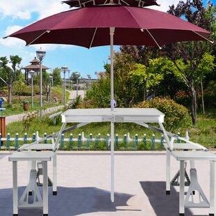 Tables basses de jardin: Ton du bois - Bois blanc | Wayfair.ca