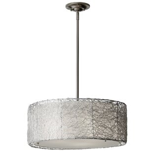 Great Price Draco 3-Light Chandelier By Latitude Run