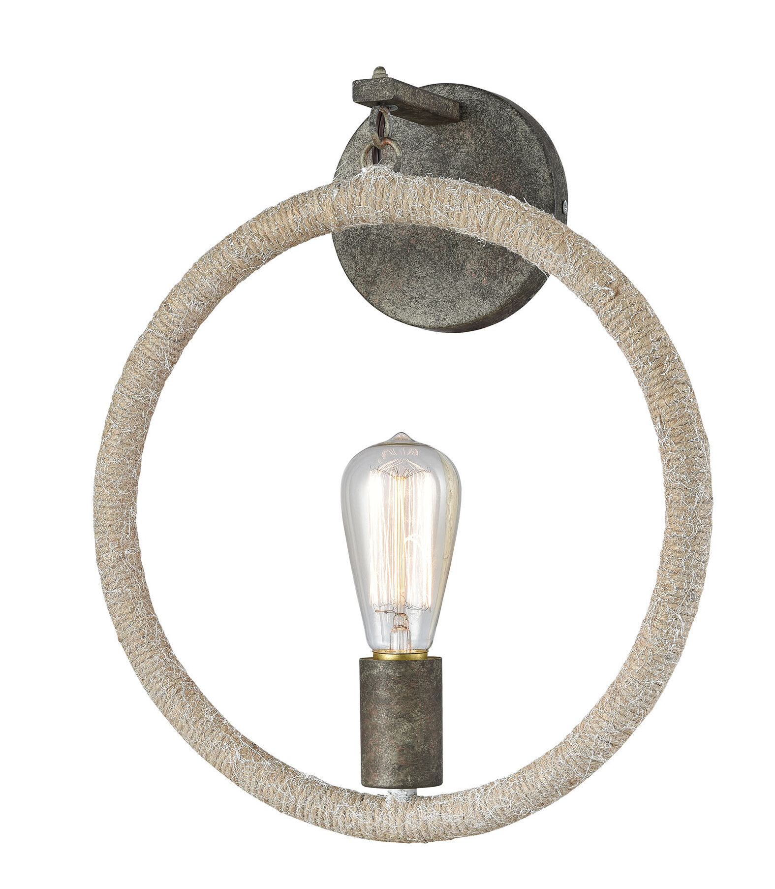 Breakwater Bay Louis 1 Light Flush Mount