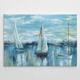 Evening On The Bay by Paul Signac - Wrapped Canvas Print