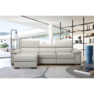 Darcy Reclining Sectional by Orren Ellis