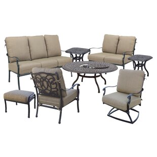 Dolby 8 Piece Sofa Set with Cushions