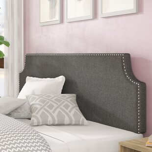 Edmund Upholstered Panel Headboard by Wrought Studio