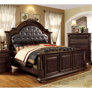 Baroda Upholstered Panel Bed by Astoria Grand