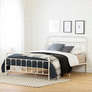 South Shore Prairie Metal Platform Bed