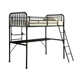 Eivind Metal Full Loft Bed by Harriet Bee