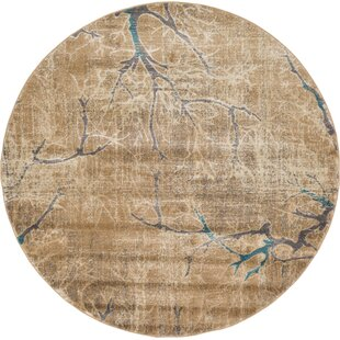 Essex Light Brown Area Rug by World Menagerie
