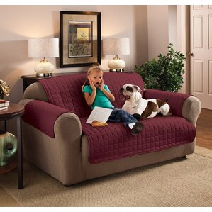 Box Cushion Sofa Slipcover..