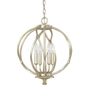 Cecil 4-Light Globe Chandelier