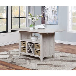 Ehsan Kitchen Island by Rosecliff Heights