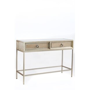 Kavia Console Table by House of Hampton Great price