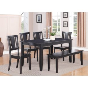 Parfait 6 Piece Solid Wood Dining Table Wooden Importers