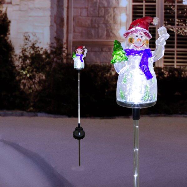 Led Snowman Outdoor Wayfair