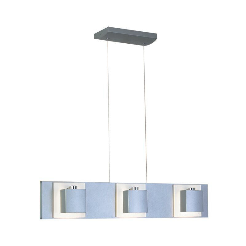 Jesco Lighting 6 Light Kitchen Island Linear Pendant Wayfair Ca