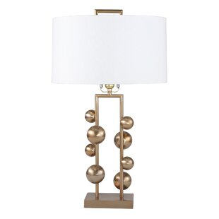 Bingen Metal Ball Steps 26 Table Lamp