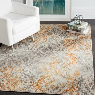majestic rugs for living room. Loretta Gray Orange Area Rug Cotton Rugs You ll Love  Wayfair