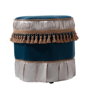 Yvonne Decorative Ottoman by Astoria Grand