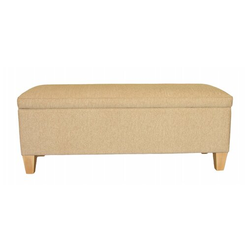 Fallston Upholstered Storage Bench Ophelia and Co. Colour: