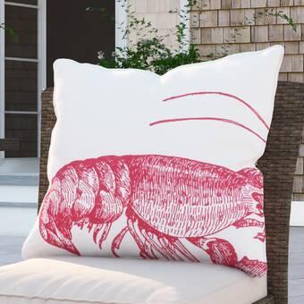 Rosecliff Heights Sherborn Nautical Down Filled Throw Pillow Wayfair