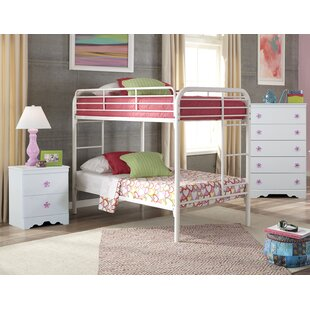 Joshua Twin over Twin Standard Bunk 3 Piece Bedroom Set by Harriet Bee