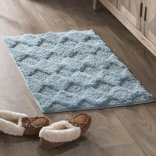 Read Reviews Outlook 100% Soft Cotton Bath Rug ByLaurel Foundry Modern Farmhouse