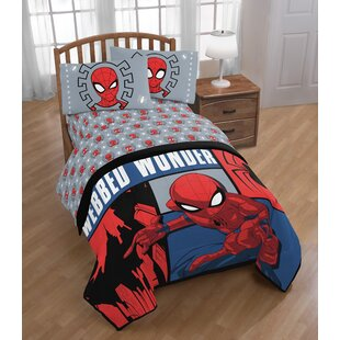 Spider Man Webbed Wonder Reversible Comforter Set