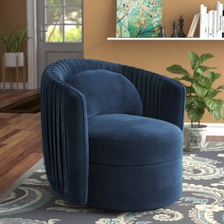 Alan Swivel Barrel Chair by Grovelane Teen SKU:ED773757 Check Price