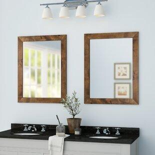 Double Wide Bathroom Mirror Wayfair
