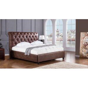Brooks Upholstered Platform Bed by American Eagle International Trading Inc.