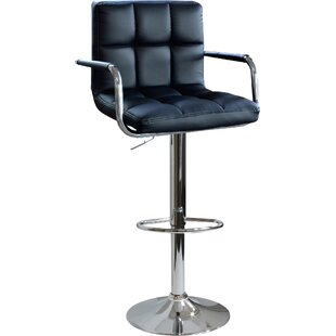 Southampton Adjustable Height Swivel Bar Stool (Set of 2) Latitude Run