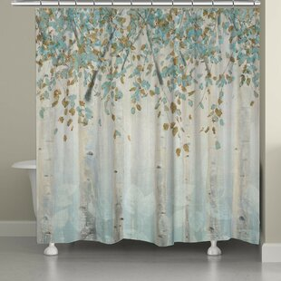 Eneida Dream Forest Single Shower Curtain