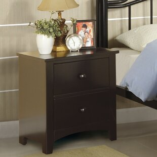 Luna 2 Drawer Nightstand