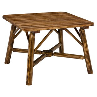 Toasted Log Solid Wood Dining Table by Jack Post