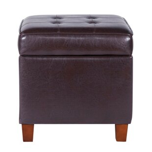 Marie Square Shape Tufted Storage Ottoman by Winston Porter