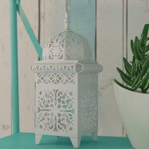 Intricate Ivory Candle Lantern