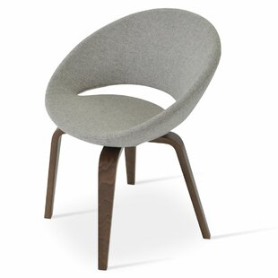 Crescent Plywood Upholstered Dining Chair