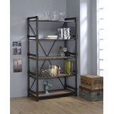 Mailloux 72 H x 40 W Metal Etagere Bookcase by Williston Forge