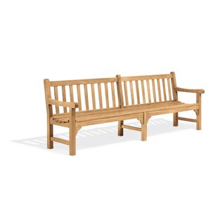 Rotteck Wooden Garden Bench