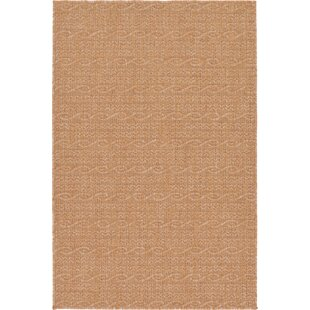 Dresden Light Brown Indoor/Outdoor Area Rug