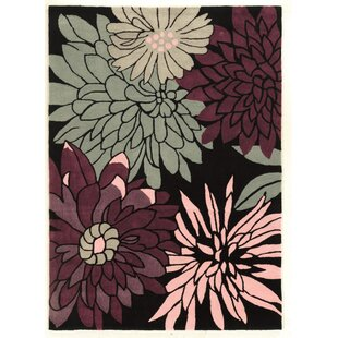 Check Prices Fugen Hand-Tufted Purple Area Rug By Winston Porter