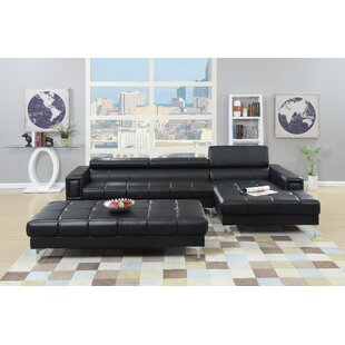 Celine Genuine Leather Sectional