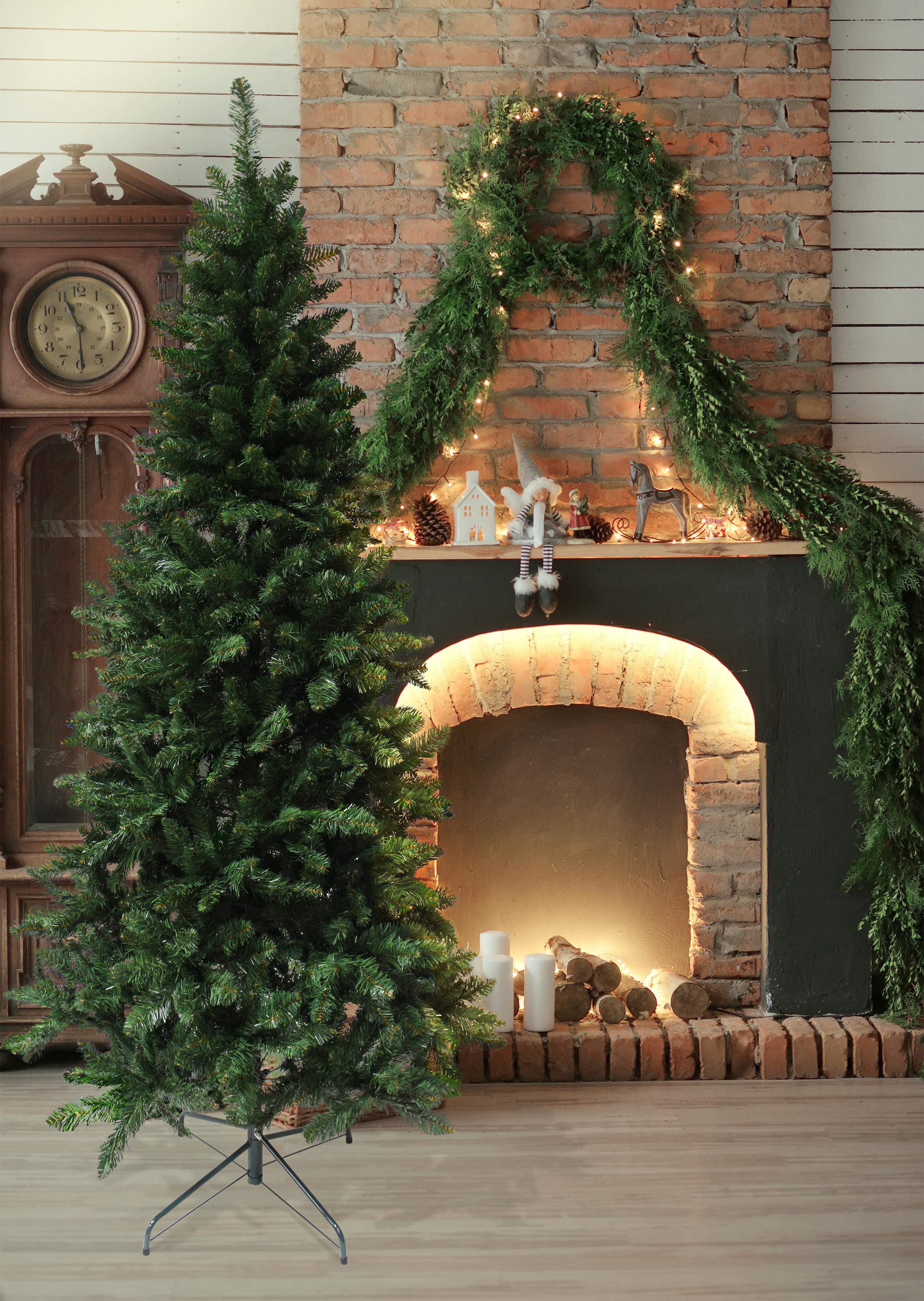 Astella 7' Green Douglas Fir Artificial Christmas Tree with Stand & Reviews | Wayfair