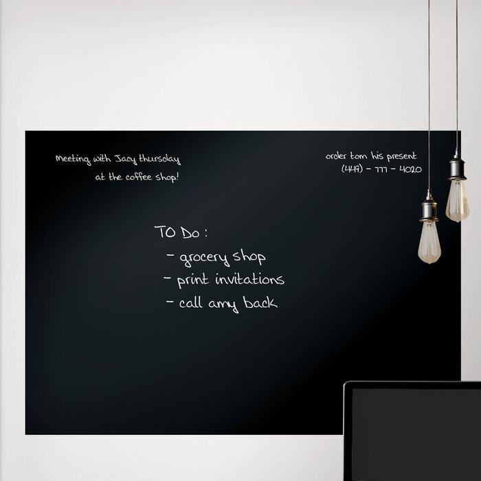 wallpops! giant whiteboard/ chalkboard wall decal & reviews | wayfair