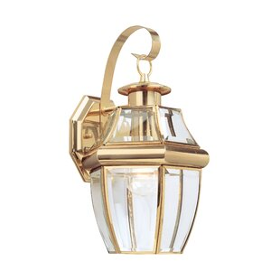 Willard 1-Light Outdoor Wall Lantern
