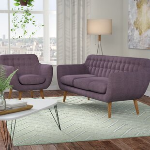 Compare & Buy Martinique 2 Piece Living Room Set by Langley Street Reviews (2019) & Buyer's Guide